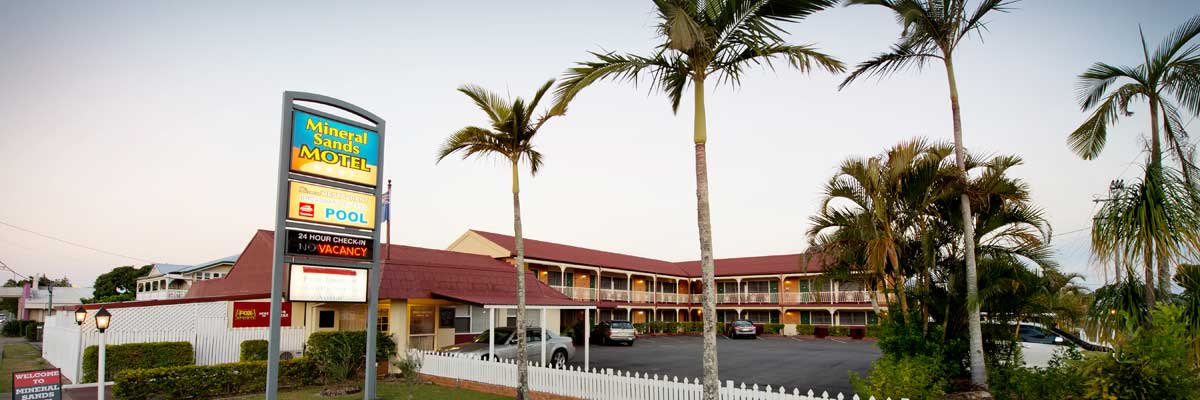 Welcome to Mineral Sands Motel